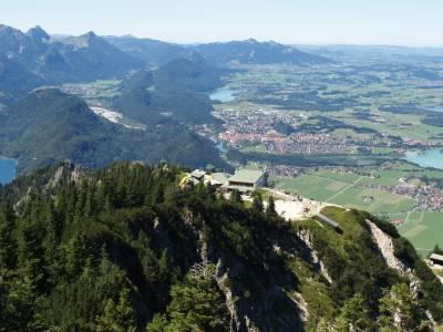 Etappe vom Tegelberg zur Kenzenhütte