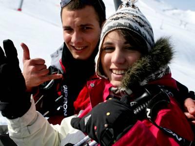 Skigebiet der Buronlifte in Wertach