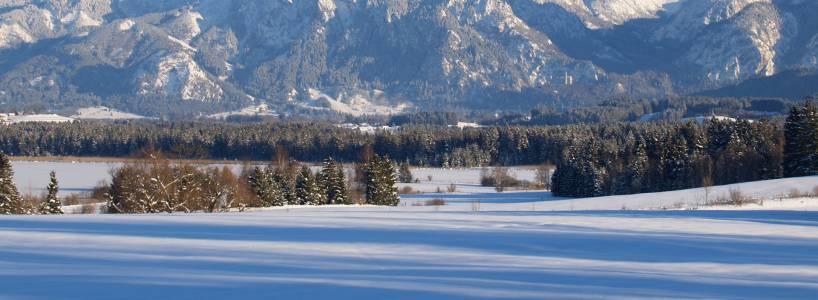 Skitourengehen im Allgäu