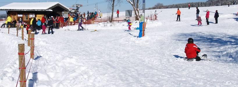 Das Skigebiet in Nesselwang