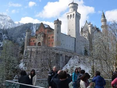 Gemütliche Winterwanderung zu den Königsschlössern Hohenschwangau und Neuschwanstein