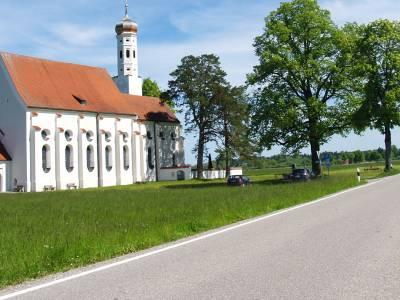 Die barocke Colomans-Kirche