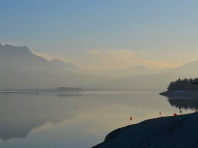 Eine abwechslungsreiche Winterwanderung: Die Bootshafen-Runde