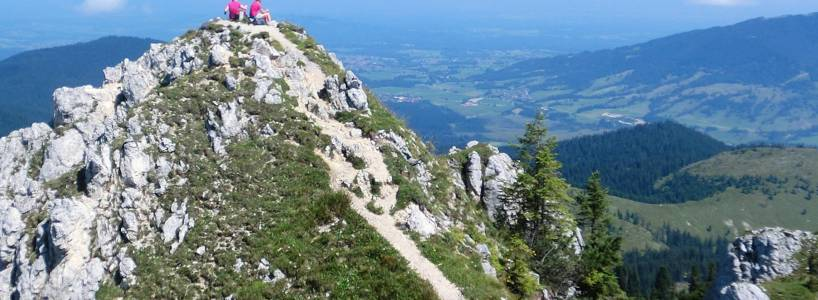 Wandertrilogie Allgäu: Himmelsstürmer-Route