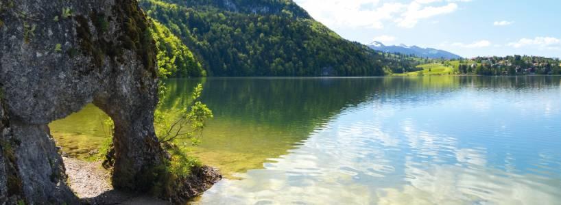 Füssen-Weißensee ist als Wanderparadies