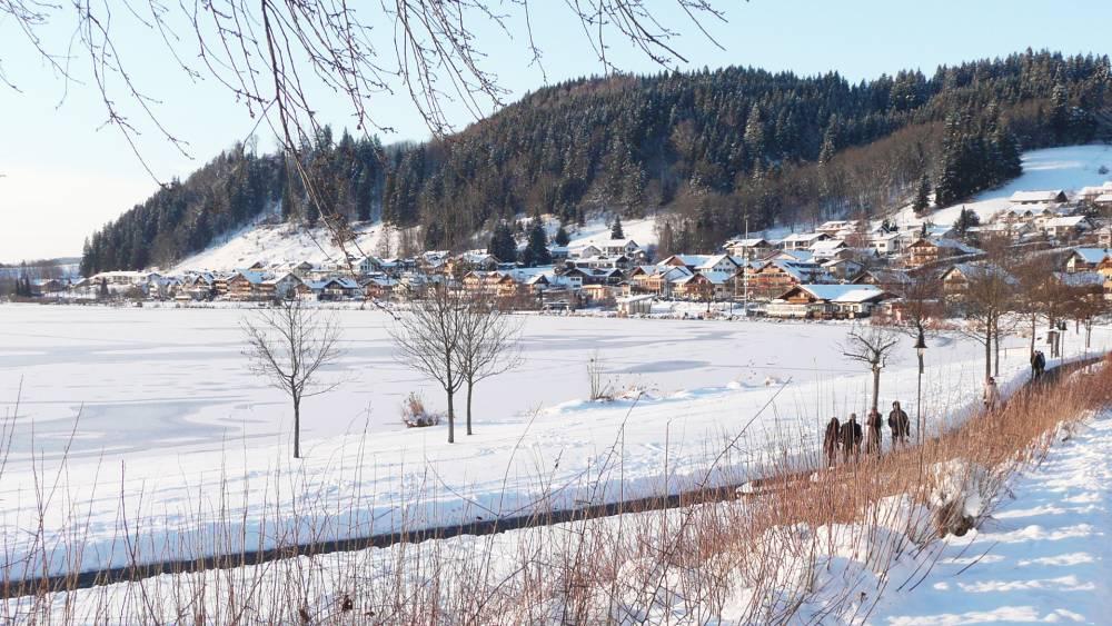 """Langlauf an der """"Riviera des Allgäus"""" - Hopfen am See"""