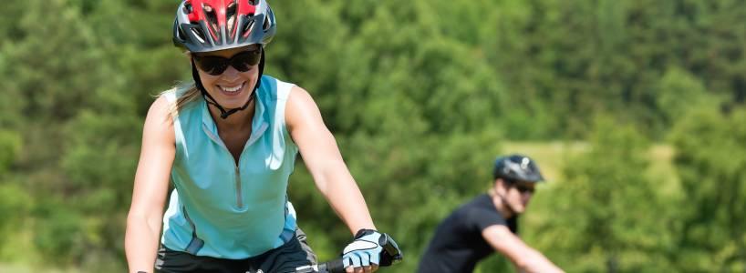 Die ca. 41 Kilometer lange Hängebrücken Radtour