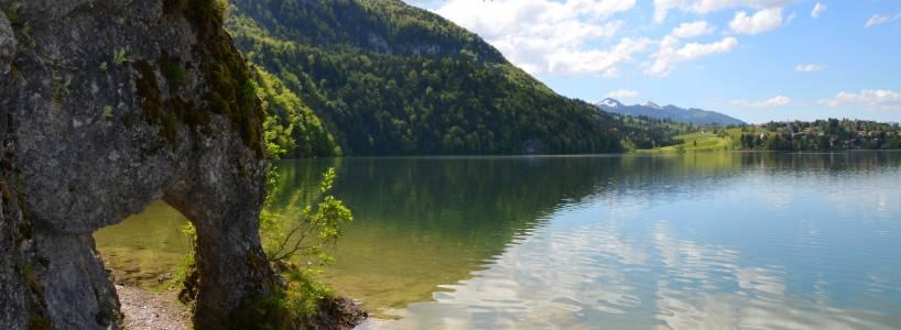 Nordic Walking: Die ca. 10 Kilometer lange Drei-Seen-Route