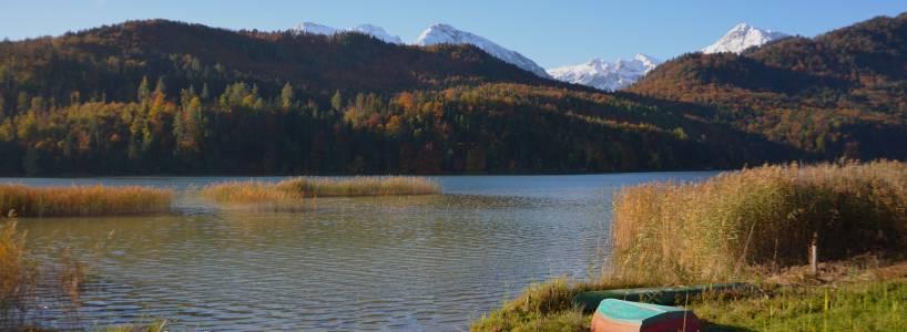 Wanderung: Vom Hohen Schloss zum Weissensee