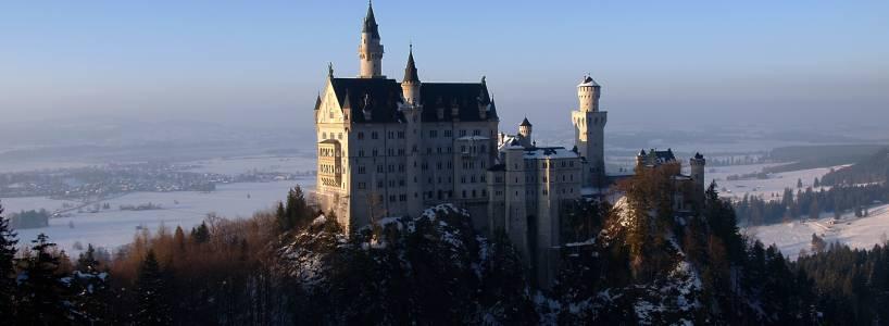 Winterzauber beim Langlauf unterhalb Schloss Neuschwanstein